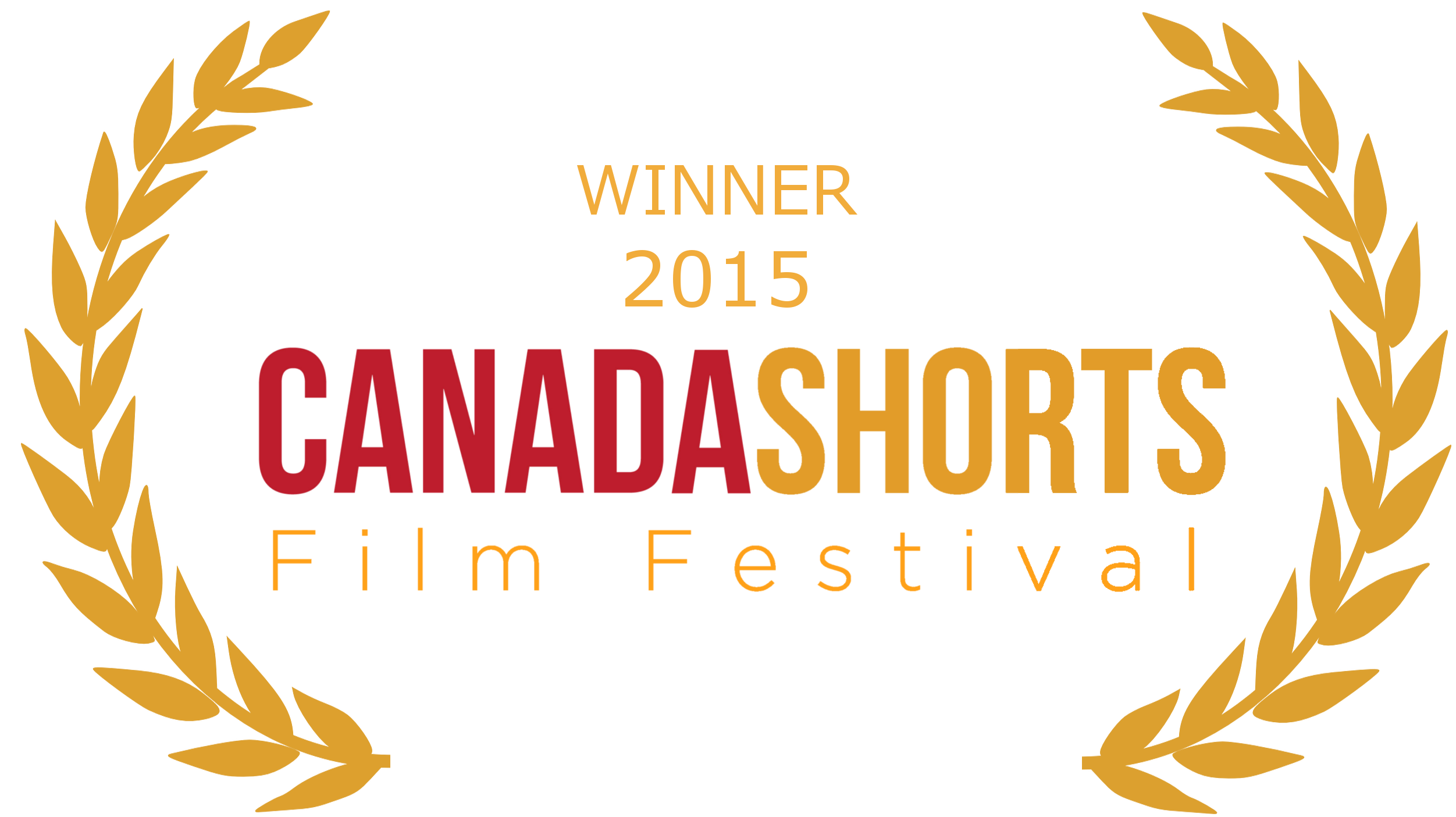 Winner 2015 Canada Shorts Film Festival