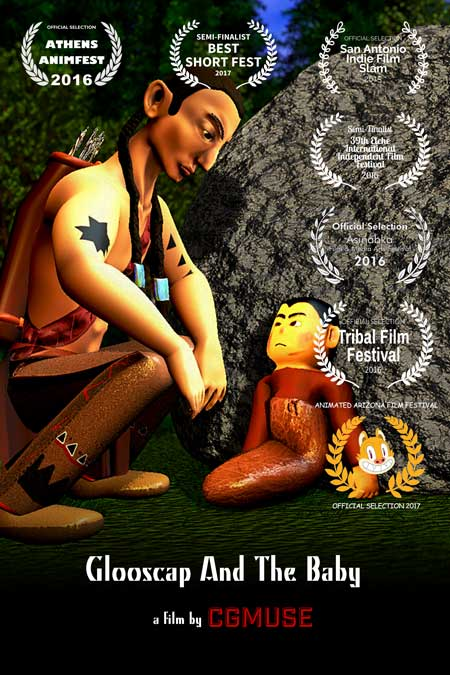 Glooscap And The Baby 3D Animation Short Poster