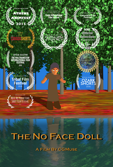 The No Face Doll 3D Animation Short